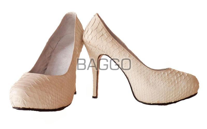 Туфли из питона bb004