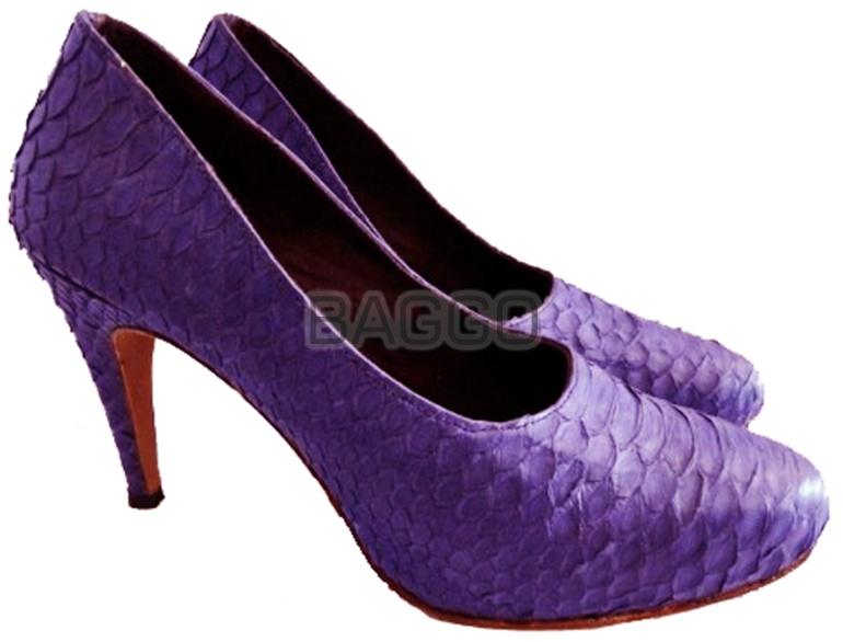 Туфли из питона bb007
