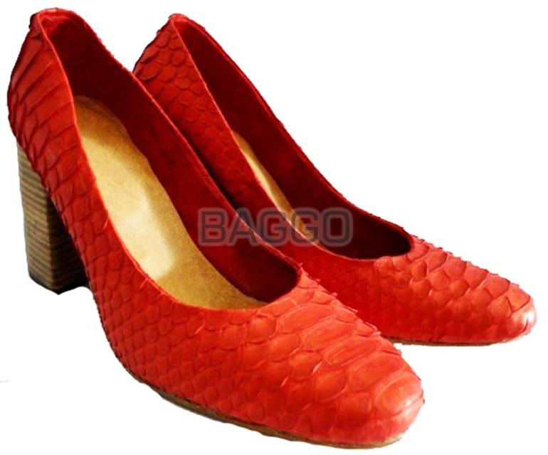 Туфли из питона bb008