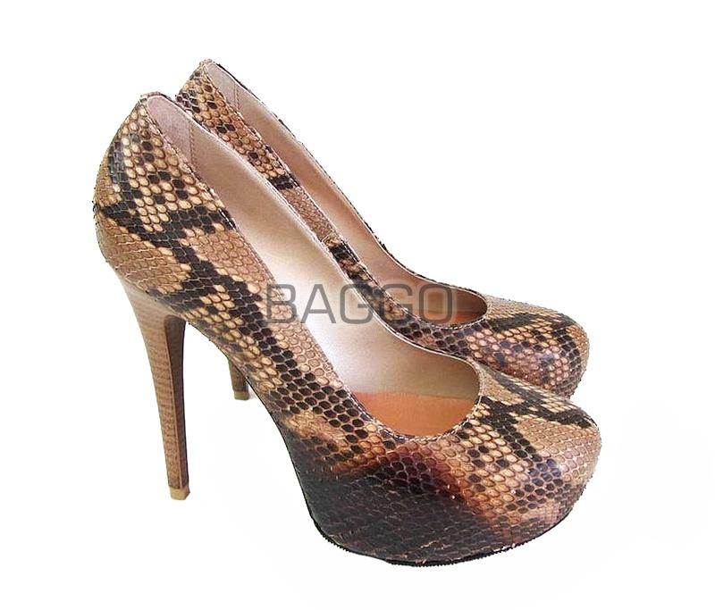 Туфли из питона bb036