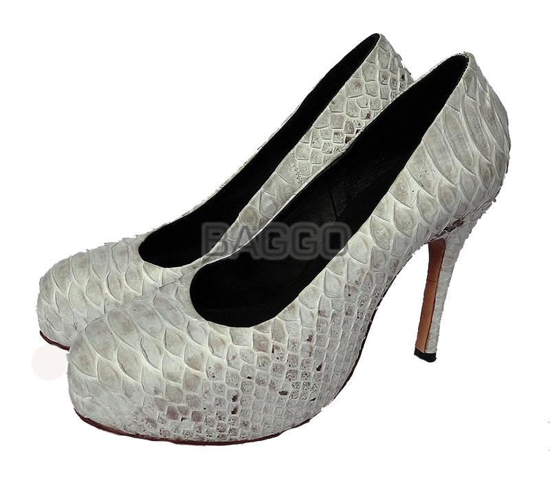 Туфли из питона bb037
