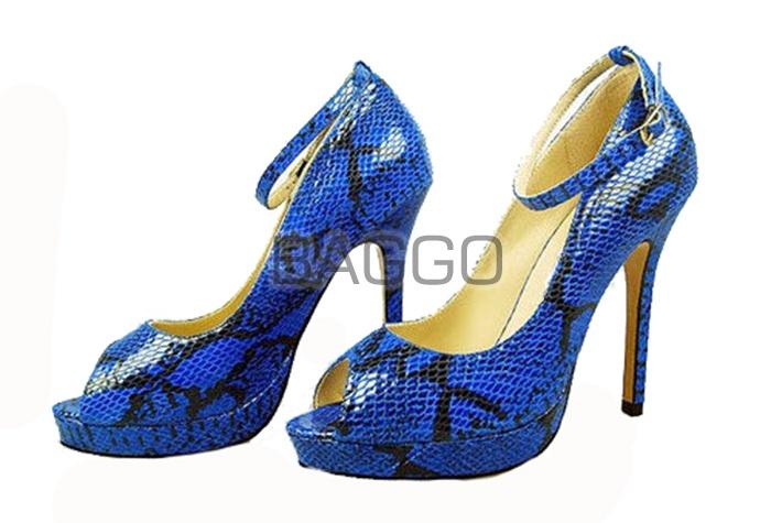 Туфли из питона bb040