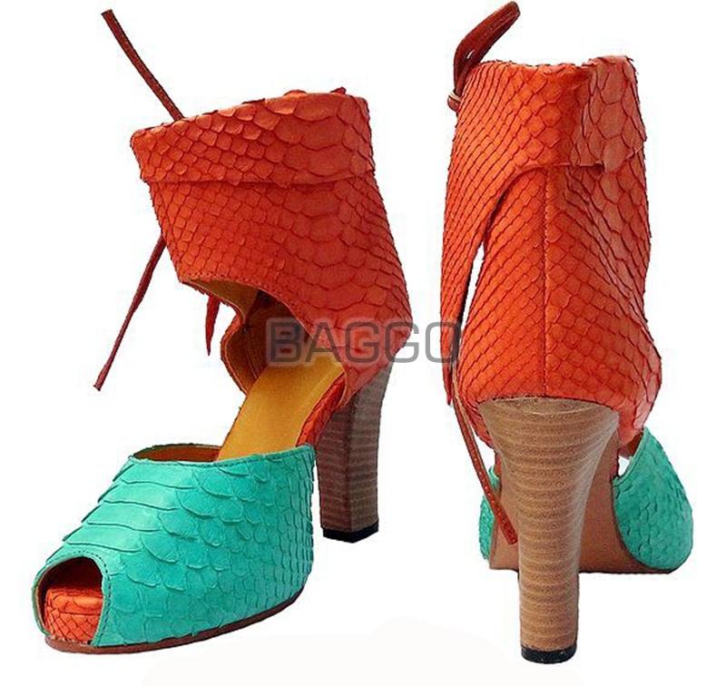 Туфли из питона bb041