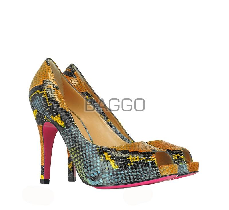 Туфли из питона bb043