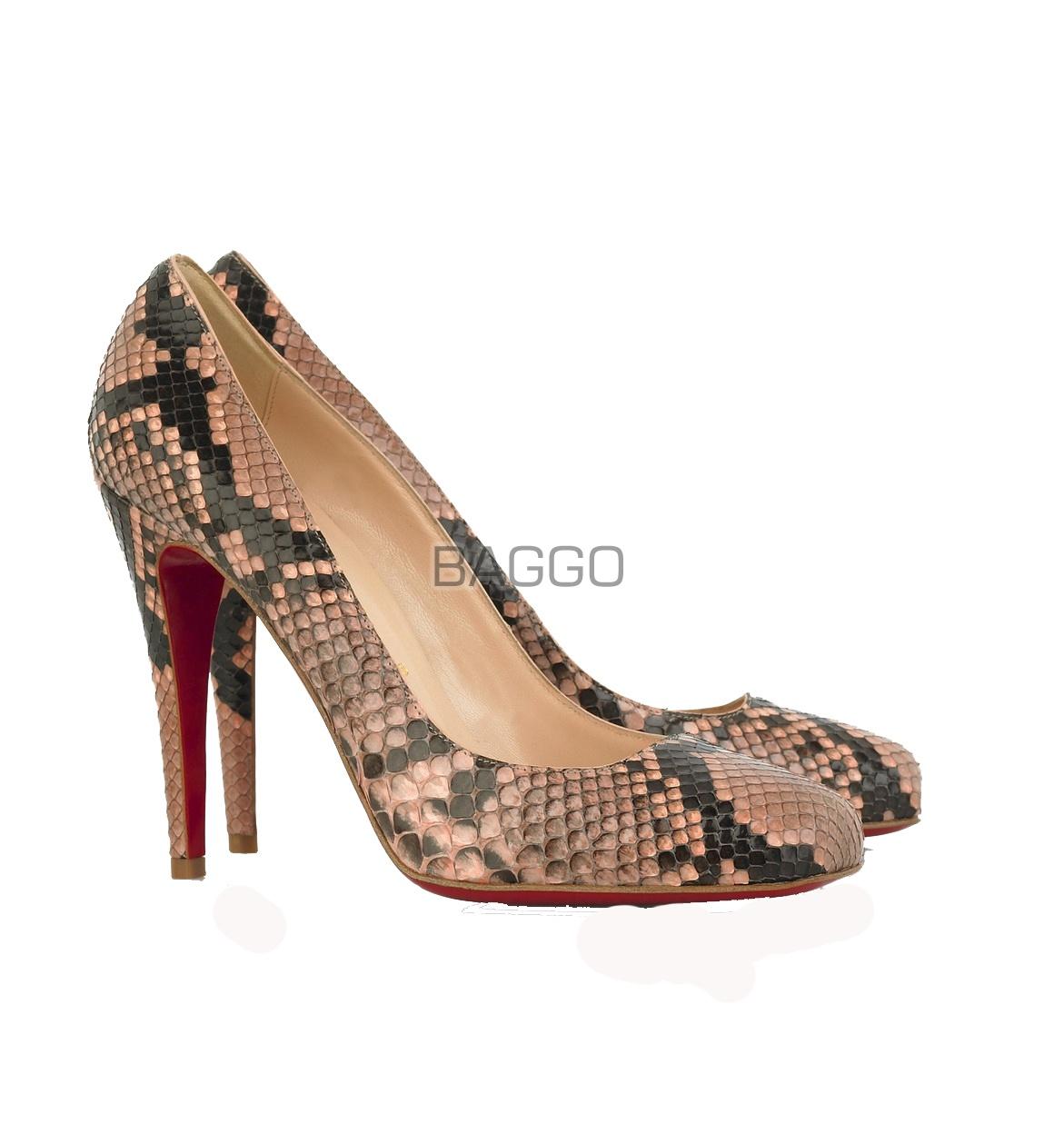 Туфли из питона bb046