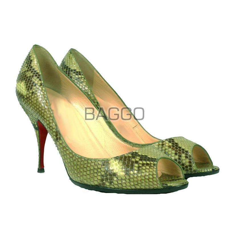 Туфли из питона bb048
