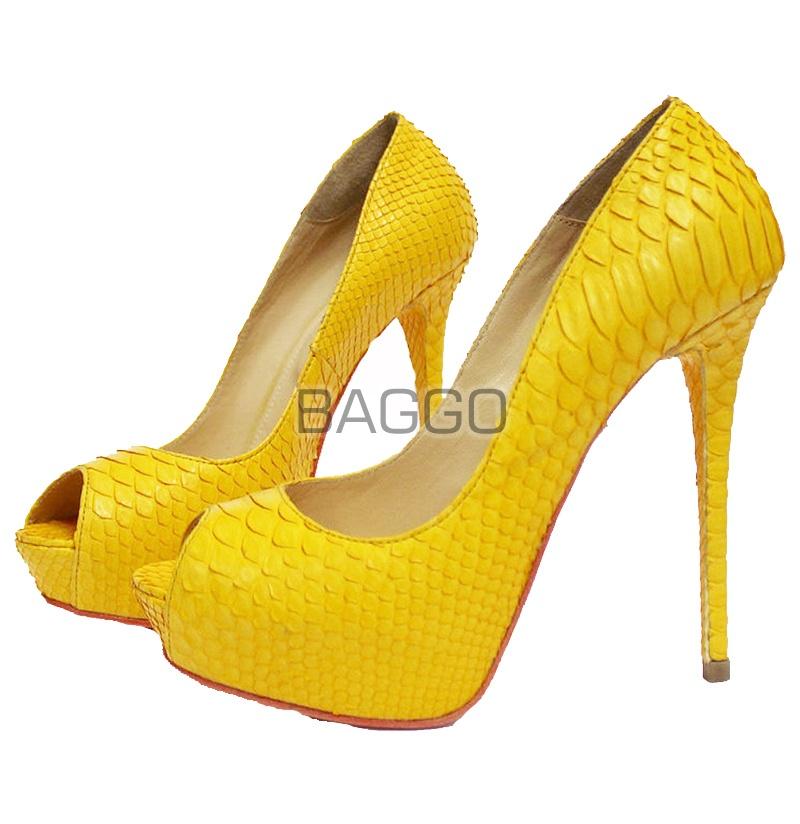Туфли из питона bb050