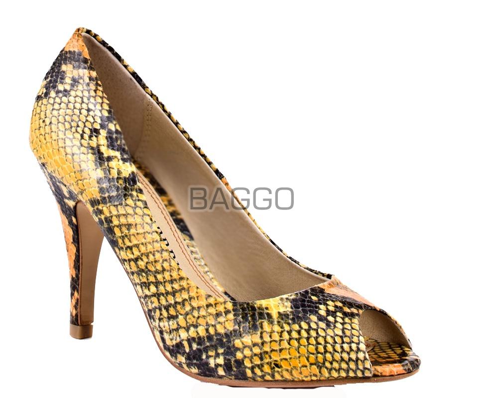 Туфли из питона bb051