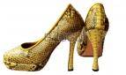 Туфли из питона bb006