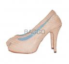 Туфли из питона bb010