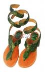 Босоножки из питона bb023
