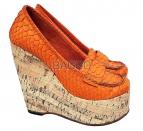 Туфли из питона bb038